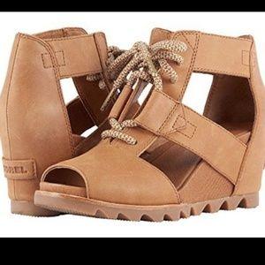 Sorel joanie wedge sandals size 8.5